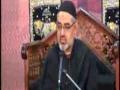 4th Majlis Moharram 1435 Hijari 2013 By Moulana Ali Murtaza Zaidi Imam Bargah Jamia Al-Sadiq as G-9/2 Islamabad - Urdu