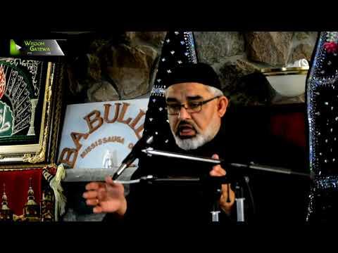 [4] Topic: قرآن اور آئمہ کی 250  سالہ زندگی سے تمسک | H.I Ali Murtaza Zaidi - Urdu