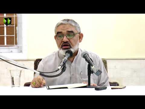 [ Mahana Fikri Nashist ]  Lecture 3   H.I Syed Ali Murtaza Zaidi - March - 2018 - Urdu