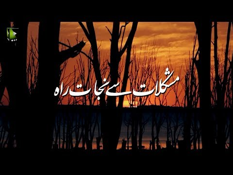 [Clip] مشکلات سے نجات کی راہ   H.I Syed Ali Murtaza Zaidi - Urdu