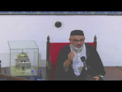 [14th Night Mahe Ramadhan] Topic: Surah Luqman - Syed Ali Murtaza Zaidi 2018 Urdu