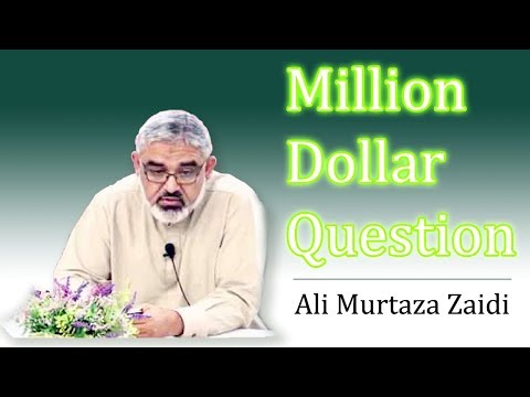 [Clip] Million Dollar Question by Agha Ali Murtaza Zaidi | Preparation for Imam Mahdi A.S Urdu
