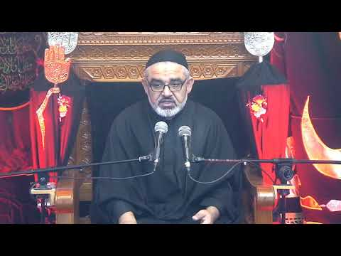 [ Eve 8th Muharram 1440]Topic: Karbala sy Zahoor tak Nusrat e Imam Ky Marahil   Syed Ali Murtaza Zaidi 17/09/2018 Urdu
