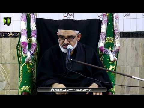 [8] Topic: معاشرے کے رسم و رواج اور نصرتِ امامِ زمانہؑ   H.I Ali Murtaza Zaidi - Urdu