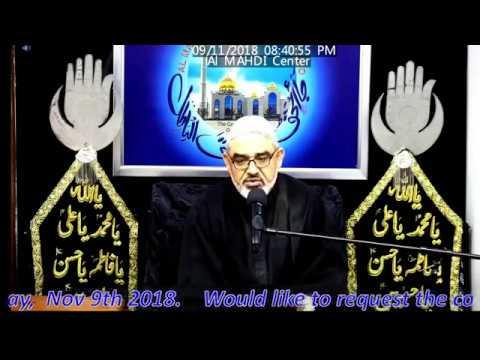 [Majlis 01]Topic:Saadat aur Kamyabi Ahlaybait kay Aqwal ki Roshni may H.I Ali Murtaza Zaidi 1Rabiul awal 1440/2018 Urdu