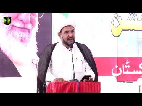 [Tilawat] Qari Yaqoob   Noor-e-Wilayat Convention 2019   Imamia Organization Pakistan - Arabic