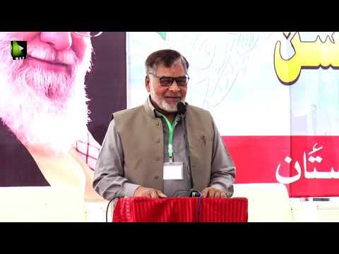 [Speech] Janab Razi ul Abbas Shamsi   Noor-e-Wilayat Convention 2019   Imamia Organization Pakistan - Urdu