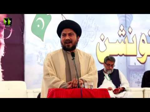 [Speech] Moulana Naseem Haider   Noor-e-Wilayat Convention 2019   Imamia Organization - Urdu