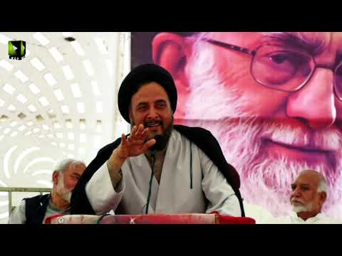 [Speech] H.I Shahid Hussain Naqvi   Noor-e-Wilayat Convention 2019   Imamia Organization Pakistan - Urdu