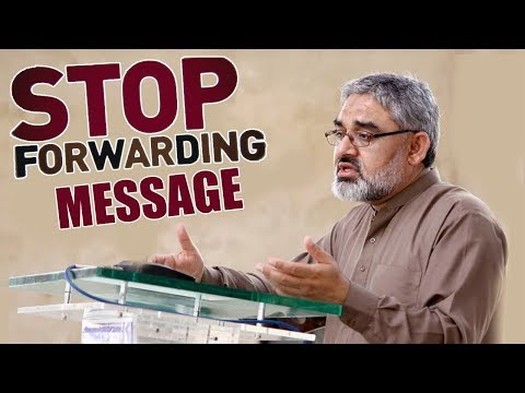 [Clip] Stop forwarding messages | Iraq Kay halat  |H.I syed Ali Murtaza Zaidi 2019 Urdu