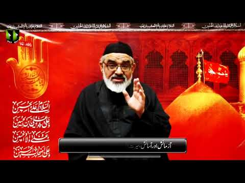 [9] Aazmaesh Or Aasaesh, Sirat e Ahlebait (as) Ke Roshni May | H.I Ali Murtaza Zaidi | Muharram 1442 | Urdu