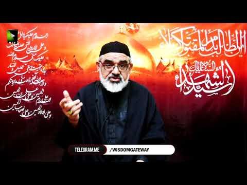 [8] Shahadat-e-Imam Hussain (as) Or Islami Saqafat Ka Aheya | H.I Ali Murtaza Zaidi | Muharram 1442 | Urdu