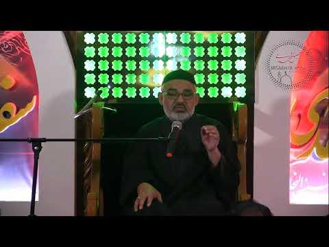 [Shab e Arbaeen 2017]  Speech Maulana Ali Murtaza Zaidi - 9 Nov 2017 | Urdu