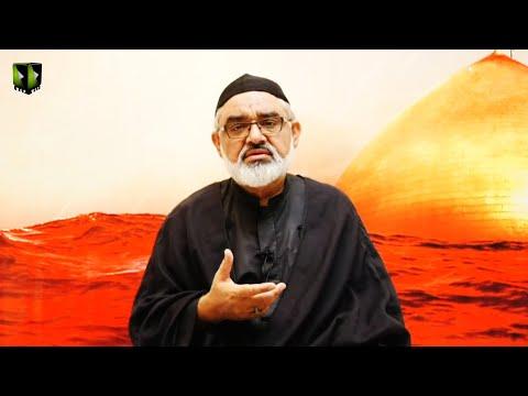 [Majlis -e- Aza]  Shahadat Imam Ali Reza (as) | H.I Syed Ali Murtaza Zaidi | 16th Safar 1442 | Urdu