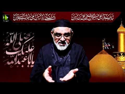 Majlis Shab -e- Arbaeen | H.I Syed Ali Murtaza Zaidi | 19th Safar 1442/2020