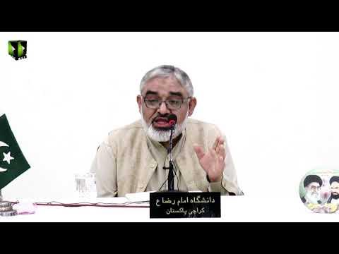 [Clip] Nabi -e- Rehmat (saww) Ke Pairwe | H.I Syed Ali Murtaza Zaidi | Urdu