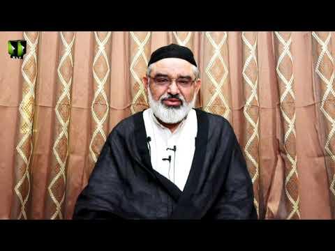 [3] Marfat or Bandagi | H.I Ali Murtaza Zaidi | Mah-e-Ramzaan 1442 | Urdu