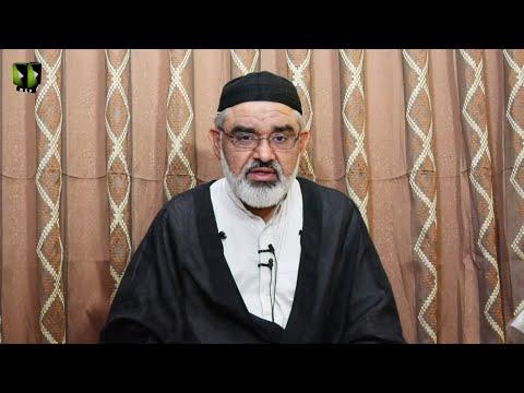 [8] Shab -e- Eid ul Fitr | Marfat or Bandagi | H.I Ali Murtaza Zaidi | Mah-e-Ramzaan 1442 | Urdu
