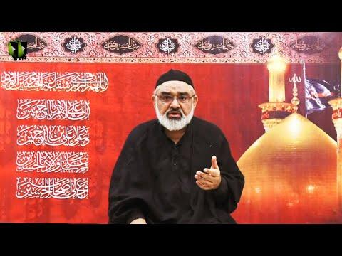 [3] Ahlay Wilayat , Or Nusrat -e- Imam (as) | H.I Ali Murtaza Zaidi | Muharram 1443/2021 | Urdu