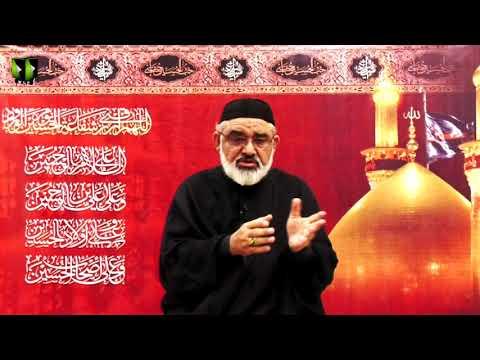 [8] Ahlay Wilayat , Or Nusrat -e- Imam (as) | H.I Ali Murtaza Zaidi | Muharram 1443/2021 | Urdu