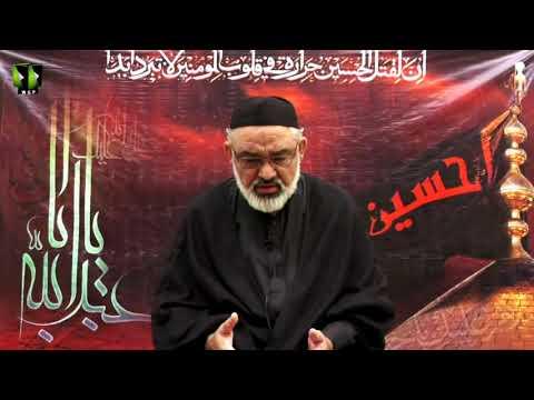 [8] Qayam -e- Imam Hussain (as) Or Deen Ka Aheya | H.I Ali Murtaza Zaidi | Muharram 1443/2021 | Urdu