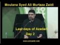 [Audio] - Majlis 2 - Last days of Azadari - AMZ - Urdu
