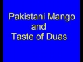 pakistani mangoes and taste of dua by aga ali murtaza zaidi-urdu