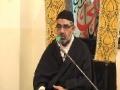 تکریم شہدائے ملت جعفریہ - H.I. Ali Murtaza Zaidi - 5 March 2012 - Urdu