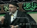 11 Ramadhan 2012 (part1) - Australia Lecture by H.I. Agha Ali Murtaza Zaidi – English