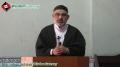 [8 March 2013] Friday Sermon - خطبہ جمعہ - H.I. Ali Murtaza Zaidi - Khoja Masjid Kharadar - Karachi - Urdu